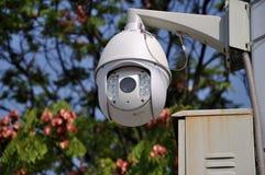 Telecontrol de camera van het verkeerstoezicht Royalty-vrije Stock Afbeeldingen