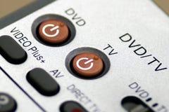Telecontrol de la televisión Imagen de archivo