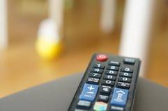 Telecontrol de la televisión Fotos de archivo libres de regalías