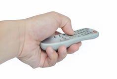 Telecontrol de la TV Imagen de archivo libre de regalías