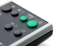 Telecontrol de la TV imagen de archivo