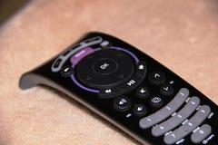 Telecontrol de la TV, en fondo ligero Foto de archivo libre de regalías