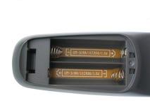 Telecontrol sin las baterías Foto de archivo libre de regalías