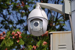 Telecontrol traffic surveillance camera Royalty Free Stock Images
