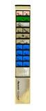 Telecontrole sujo velho da tevê isolado Imagem de Stock Royalty Free