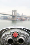 Telecope de Brooklyn imagem de stock royalty free