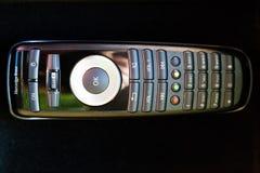 Teledirigido para el sistema de multimedias incorporado de Mercedes Benz S350 imagen de archivo libre de regalías