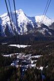 Teleférico ao Zugspitze Foto de Stock Royalty Free