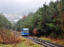 Teleférico da montanha Imagem de Stock