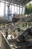 Teleférico da plataforma do dobro de Cabrio, Stanserhorn Imagem de Stock Royalty Free