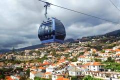 Teleférico de Funchal até Monte em Madeira Fotografia de Stock Royalty Free