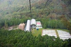 Teleférico de la góndola Góndola de Maokong Foto de archivo