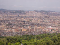 Teleférico de Montjuïc Fotos de archivo libres de regalías