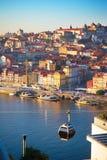 Teleférico de Porto Foto de Stock