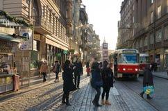 Teleférico de Praga fotos de stock