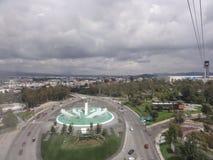 Teleférico de Puebla - México imagem de stock royalty free