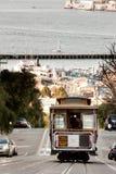 Teleférico de San Francisco Imagen de archivo libre de regalías