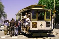 Teleférico em San Francisco fotografia de stock royalty free