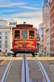 Teleférico en San Francisco Foto de archivo