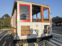 Teleférico en San Francisco Fotos de archivo libres de regalías