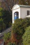Teleférico en Zagreb imagenes de archivo