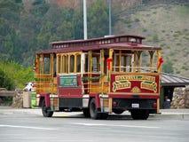 Teleférico histórico en San Francisco Fotografía de archivo