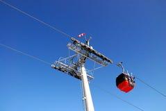 Teleféricos Foto de Stock Royalty Free