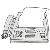 telefax Royaltyfri Bild