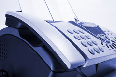Telefax-Maschine Lizenzfreies Stockfoto