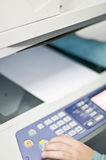 Telefaxdrucker lizenzfreies stockfoto