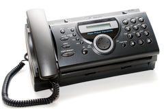 Telefaxmaschine Stockbild