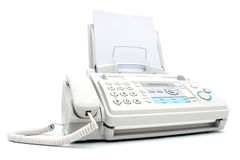 Telefaxmaschine Stockfotos