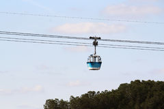 Teleferico De Madrid Cable Car, Spain Royalty Free Stock Images