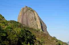 Teleferique, lift to Sugarloaf Mountain in Rio de Janeiro Stock Photography
