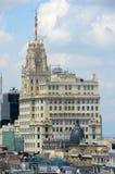 Telefónica Building, Madrid, Spain Stock Image