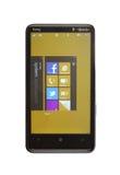 telefonów 5 7 mangowych okno Obraz Royalty Free