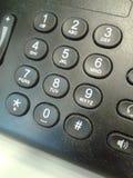 Telefonów guziki Fotografia Royalty Free