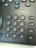 Telefonów guziki Obrazy Stock