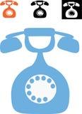 telefon royaltyfri illustrationer