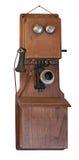 Telefon 1900's auf Weiß Lizenzfreies Stockbild