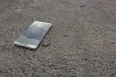 Telefon-Abbruch Lizenzfreie Stockbilder