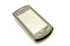 Telefon auf einem weißen Hintergrund Stockfotografie