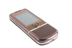 Telefon auf weißem Hintergrund Lizenzfreie Stockfotografie
