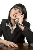 Telefon-Aufruf stockbilder