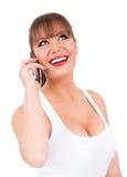 Telefon-Aufruf Lizenzfreies Stockfoto