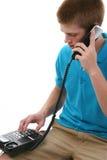 Telefon-Aufruf Lizenzfreie Stockfotos