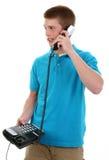 Telefon-Aufruf Stockfotos