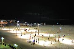 Telefon Aviv Beach Volleyball, Israel Arkivfoton
