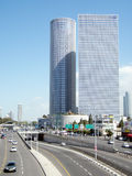 Telefon Aviv Derech Menachem Begin 2011 Lizenzfreies Stockbild