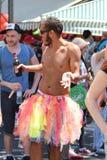 Telefon Aviv Gay Pride Parade 2015 Lizenzfreies Stockbild